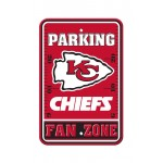 Kansas City Chiefs 12-inch by 18-inch Parking Sign