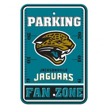Jacksonville Jaguars 12-inch by 18-inch Parking Sign