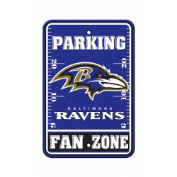 Baltimore Ravens 12-inch by 18-inch Parking Sign