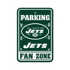 New York Jets 12-inch by 18-inch Parking Sign