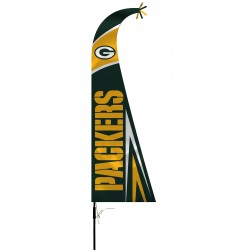 Green Bay Packers Feather Flag Bundle