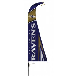 Baltimore Ravens Feather Flag Bundle