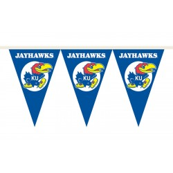 Kansas Jayhawks 25 Foot Party Pennants