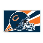 Chicago Bears Helmet 3'x 5' NFL Flag