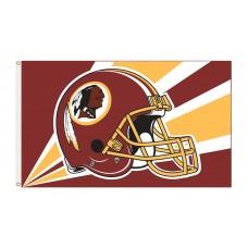 Washington Redskins Helmet 3'x 5' NFL Flag