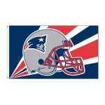 New England Patriots Helmet 3'x 5' NFL Flag