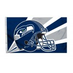 Seattle Seahawks Helmet Design 3' x 5' Polyester Flag