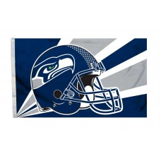 Seattle Seahawks Helmet Design 3'x 5' NFL Flag