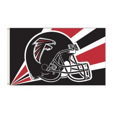 Atlanta Falcons Helmet 3'x 5' NFL Flag