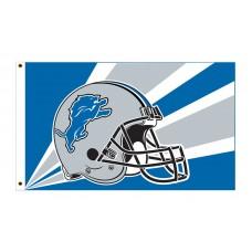 Detroit Lions Helmet 3'x 5' NFL Flag