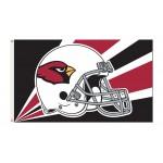 Arizona Cardinals Helmet 3'x 5' NFL Flag