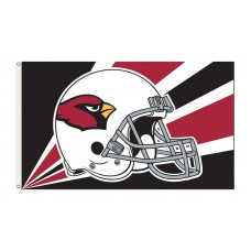 Arizona Cardinals Helmet 3'x 5' NFL Flag