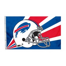 Buffalo Bills Helmet 3'x 5' NFL Flag