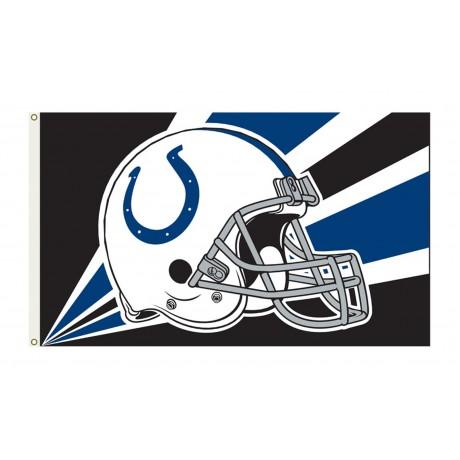 Indianapolis Colts Helmet 3'x 5' NFL Flag