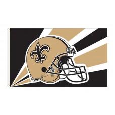 New Orleans Saints Helmet 3'x 5' NFL Flag