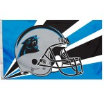 Carolina Panthers Helmet 3'x 5' NFL Flag