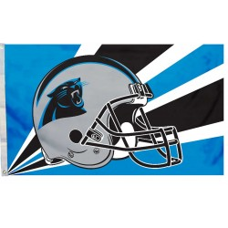 Carolina Panthers Helmet 3'x 5' NFL Flag