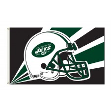 New York Jets Helmet 3'x 5' NFL Flag