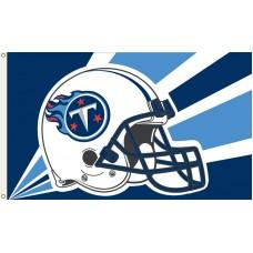 Tennessee Titans Helmet 3'x 5' NFL Flag