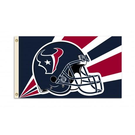 Houston Texans Helmet 3'x 5' NFL Flag