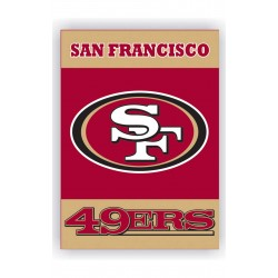 San Francisco 49ers Outside House Banner