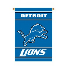 Detroit Lions Outside House Banner