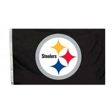 Pittsburgh Steelers Logo 3'x 5' NFL Flag