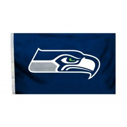 Seattle Seahawks Logo 3'x 5' NFL Flag
