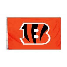 Cincinnati Bengals Logo 3'x 5' NFL Flag