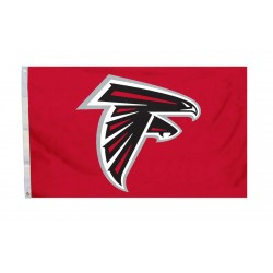 Atlanta Falcons Red 3' x 5' Polyester Flag
