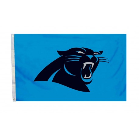 Carolina Panthers Logo 3'x 5' Flag