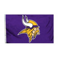 Minnesota Vikings Logo 3'x 5' Flag
