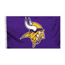 Minnesota Vikings Logo 3'x 5' Flag