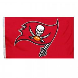 Tampa Bay Buccaneers Logo 3'x 5' NFL Flag