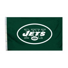 New York Jets Logo 3'x 5' NFL Flag