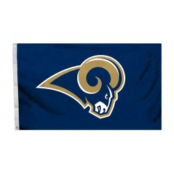 St. Louis Rams Logo 3'x 5' NFL Flag