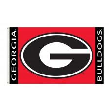 Georgia Bulldogs 3'x 5' College Flag
