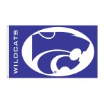 Kansas State Wildcats 3'x 5' College Flag