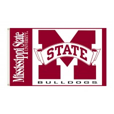 Mississippi State Bulldogs 3'x 5' College Flag