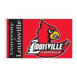 Louisville Cardinals 3'x 5' College Flag