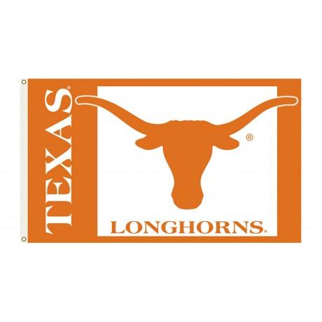Texas Longhorns 3'x 5' College Flag