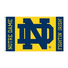 Notre Dame Fightin' Irish 3'x 5' College Flag