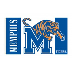 Memphis Tigers 3'x 5' College Flag