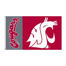 Washington State Cougars 3'x 5' Premium Flag