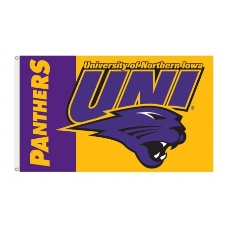 Northern Iowa Panthers 3'x 5' College Flag