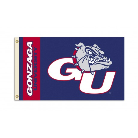 Gonzaga Bulldogs 3'x 5' College Flag