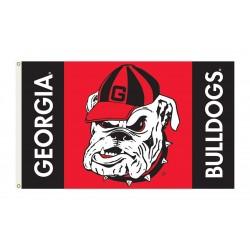 Georgia Bulldogs 3'x 5' Flag