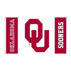 Oklahoma Sooners 3'x 5' College Flag