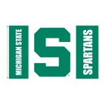 Michigan State Spartans 3'x 5' College Flag