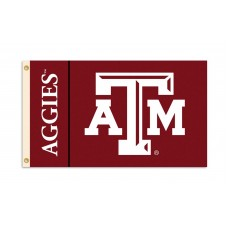 Texas A&M Aggies 3'x 5' College Flag